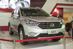 Grey dongfeng ax7 car Royalty Free Stock Photography