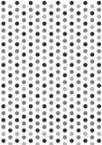 Grey Dots Imagens de Stock