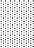 Grey dots Stock Images