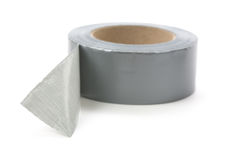Grey Duct Tape stock photos