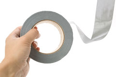 Grey Duct Tape Royalty Free Stock Image