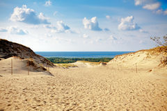 Grey Dunes at the Curonian Spit Royalty Free Stock Photo