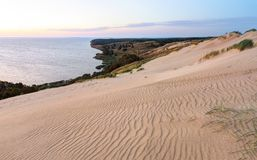 Grey dunes in the fall time. Stock Photography