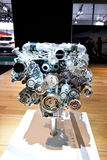 Grey engine Mersedes Royalty Free Stock Photos