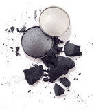 Grey eyeshadow Stock Image
