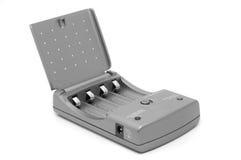 grey för batteriuppladdare Arkivfoton