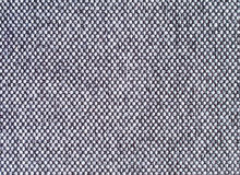 Grey fabric. Grey checker board woven fabric texture Stock Images