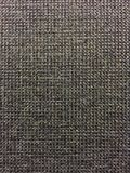Grey Fabric. Close up photo of deep grey woven fabric stock image