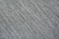 Grey fabric with diagonal structure of a thread Stock Photo