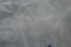 Grey fabric surface background Stock Images
