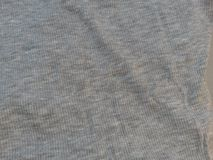 Grey fabric surface Royalty Free Stock Images