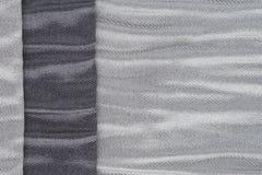 Grey fabric texture Stock Image