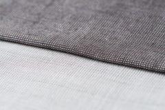 Grey fabric texture Stock Photo