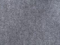 Grey felt texture background cloth close-up