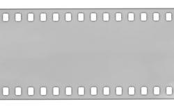 Grey  Film strip, macro shot Royalty Free Stock Photo