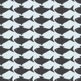 Grey fish background Stock Photography