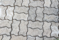 Grey floor concrete stones. For background Stock Photo