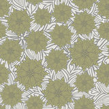Grey floral background Royalty Free Stock Photo