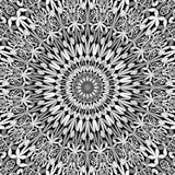 Grey floral ornate mandala background - abstract bohemian vector wallpaper. Grey floral ornate mandala background - abstract bohemian vector ornament wallpaper vector illustration