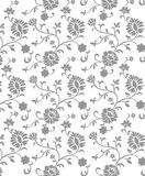 Grey flower. Floral background. Royalty Free Stock Photos