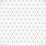 Grey flower pattern Royalty Free Stock Photos