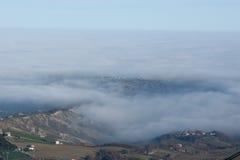 Grey fog Royalty Free Stock Image