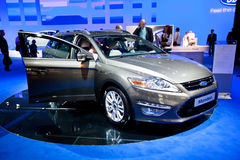 Grey Ford Mondeo Stock Photo