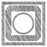 Grey Frames Fotografía de archivo libre de regalías