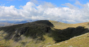 Grey Friar and Scafell Pike Stock Photography