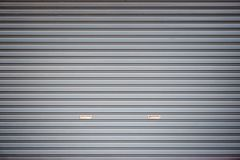 Grey Garage Door Background foto de stock royalty free