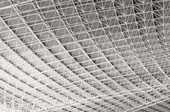 Grey geometric background. Stock Image