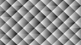Grey Geometric Background brillant avec le modèle diagonal de places illustration de vecteur