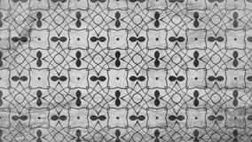 Grey Geometric Ornament Wallpaper Pattern oscuro libre illustration