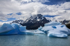 Grey Glacial Lagoon - Patagonia - Chile royalty free stock image