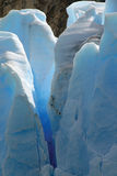 Grey Glacier Stock Photography