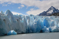 Grey Glacier stock photo