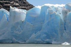 Grey Glacier Stock Images