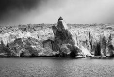 Grey Glacier Close Up, Patagonia, o Chile fotografia de stock