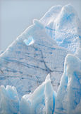 Grey Glacier Closeup, Chile. A close up look at the Grey Glacier in Torres del Paine National Park, Chile Stock Photography