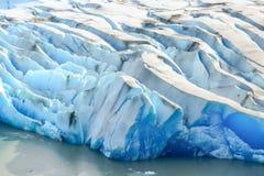 Grey Glacier,Patagonia, Chile,Patagonian Ice Field, Cordillera del Paine royalty free stock photo