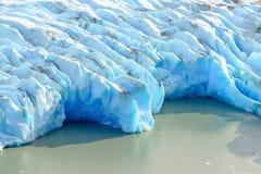 Grey Glacier, Patagonia, Chile, Patagonian Ice Field, Cordillera del Paine royalty free stock photos