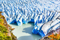 Grey Glacier, Patagonia, Chile Stock Photography