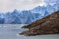 Grey Glacier - Patagonia - Chile Stock Images