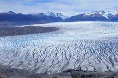 Grey glacier. Torres del Paine National park. Stock Photography