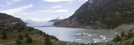 Grey Glacier, Torres del Paine National Park, Chile Stock Image