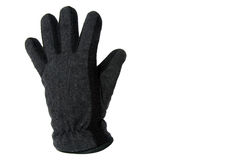 Grey glove Stock Photography
