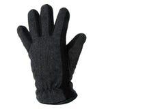 Grey glove stock photography