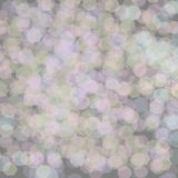 Grey Glowing Background. Abstract Background - Grey Glowing Background With Sparkling Circles Stock Photography