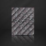 Grey Gquare Tiles Pattern inconsútil Imágenes de archivo libres de regalías