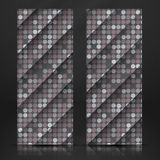 Grey Gquare Tiles Pattern inconsútil Foto de archivo